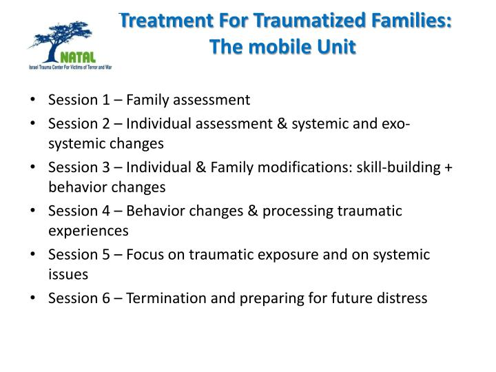 Treatment For Traumatized Families: