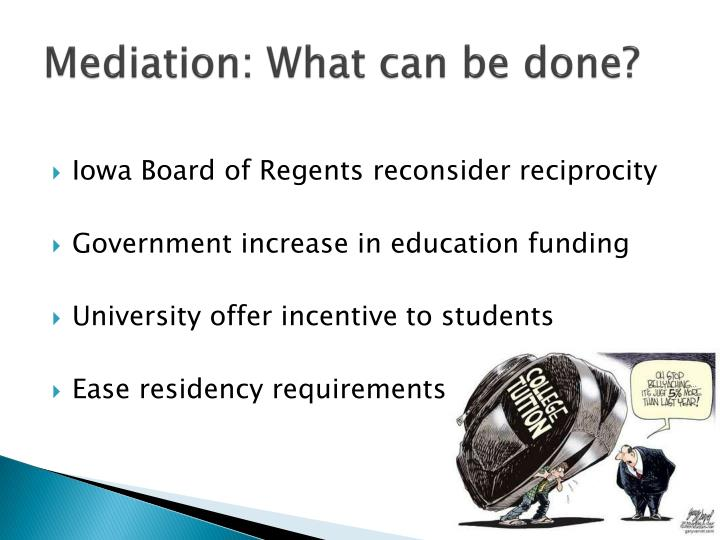 Mediation: What can be done?