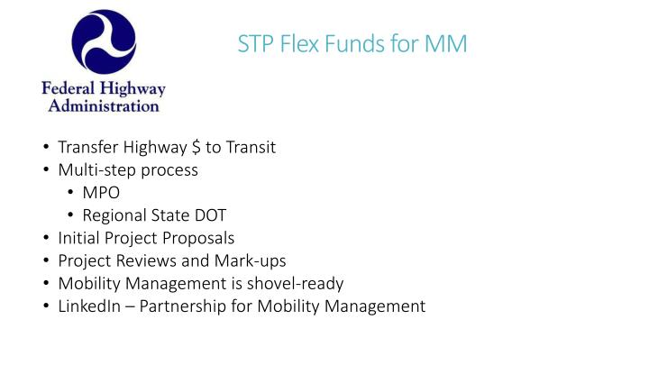 STP Flex Funds for MM