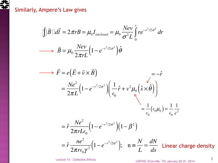 Similarly, Ampere's Law gives