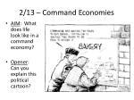 2 13 command economies
