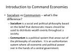 introduction to command economies2