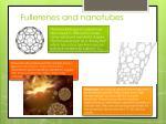 fullerenes and nanotubes