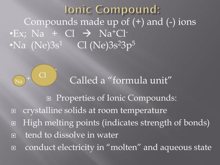 Ionic Compound: