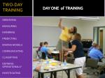 two day training2