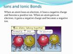 ions and ionic bonds1