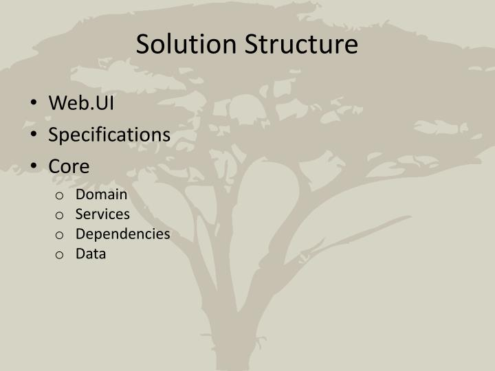 Solution Structure