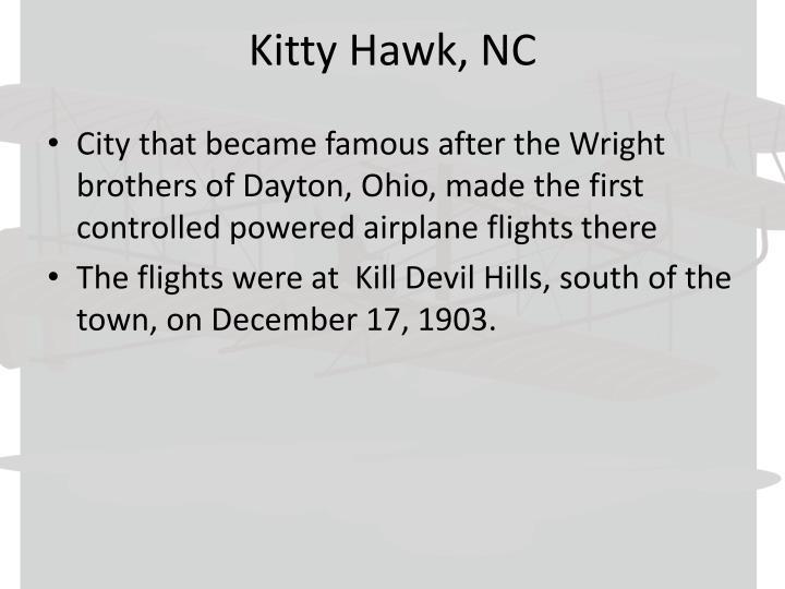 Kitty Hawk, NC