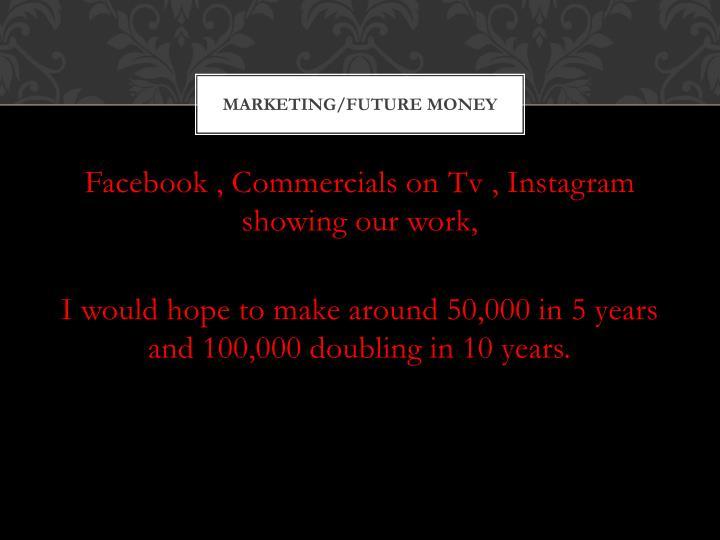 Marketing/Future Money