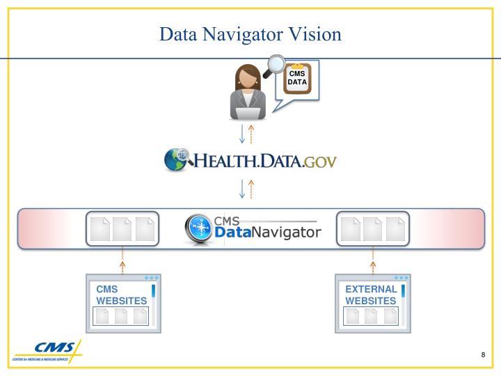 Data Navigator Vision