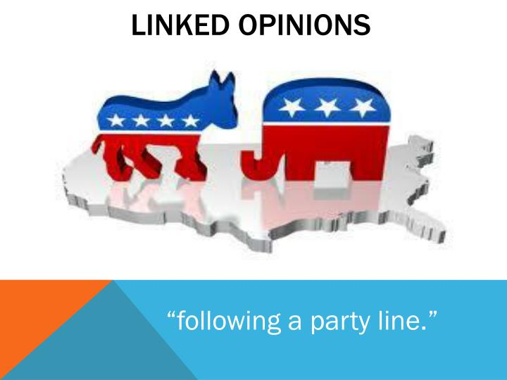 Linked opinions
