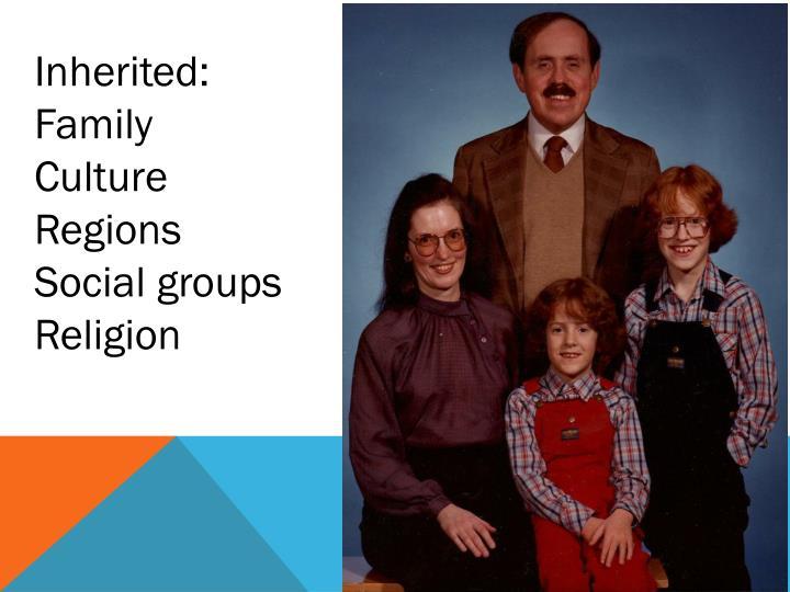 Inherited: