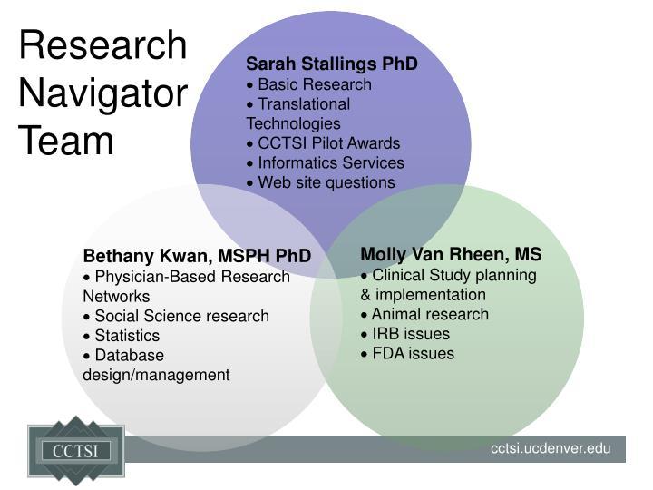 Research Navigator Team