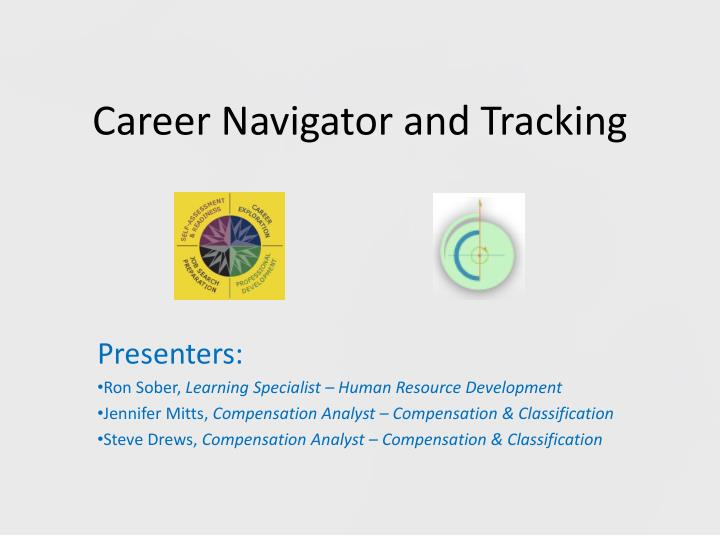 career navigator and tracking