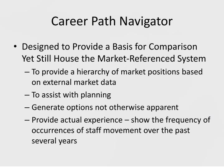 Career Path Navigator