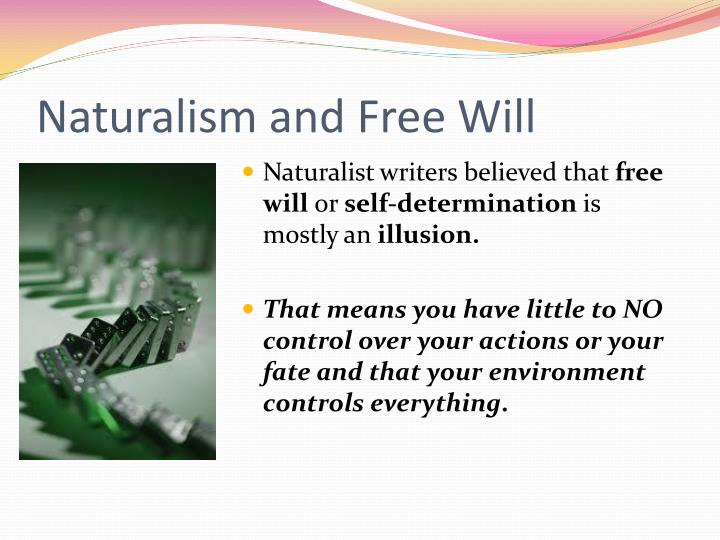 Naturalism and Free Will