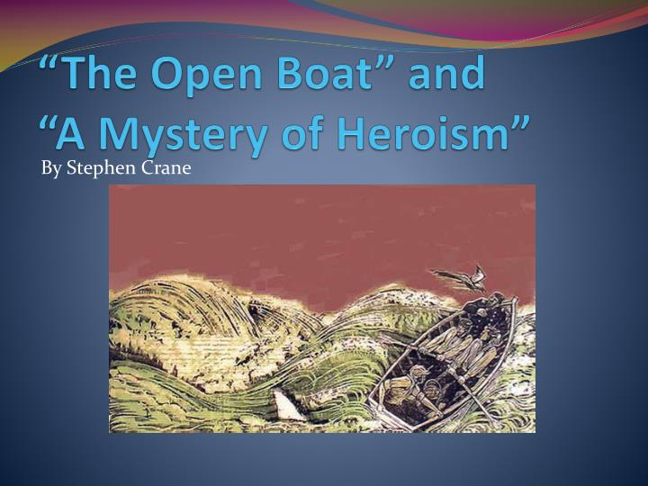 """The Open Boat"