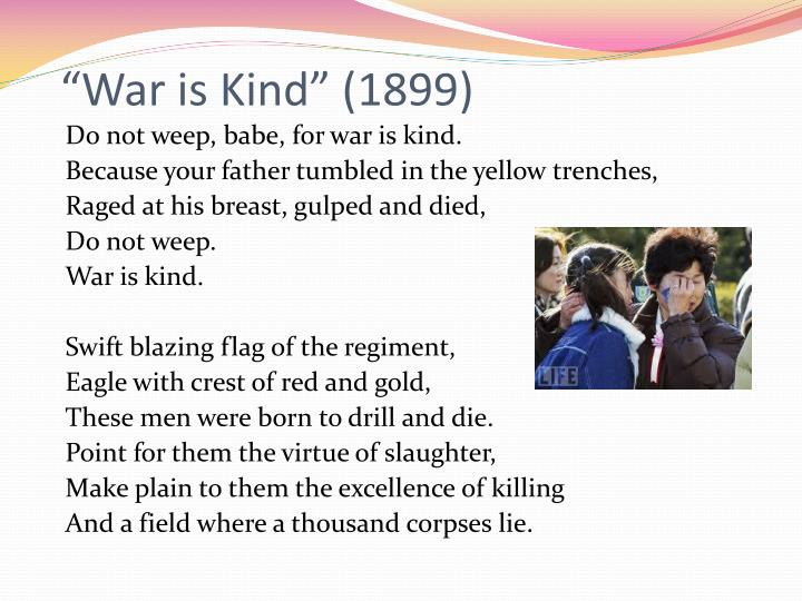 """War is Kind"" (1899)"