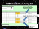 misconceptions in navigator1