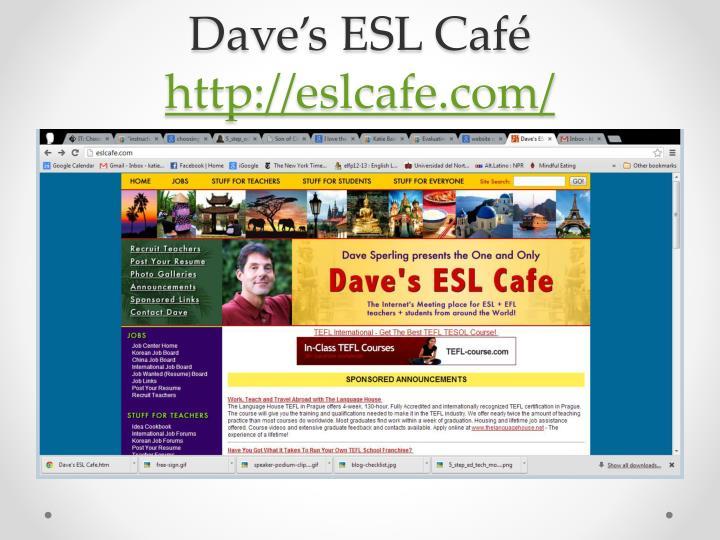Dave's ESL Café