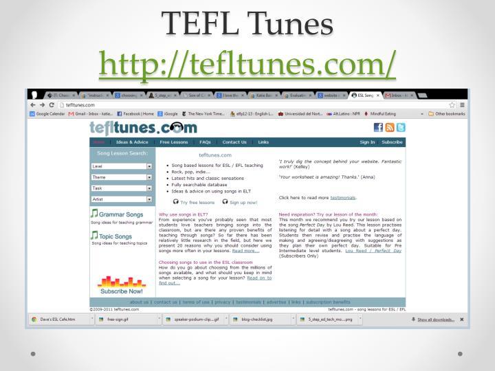 TEFL Tunes