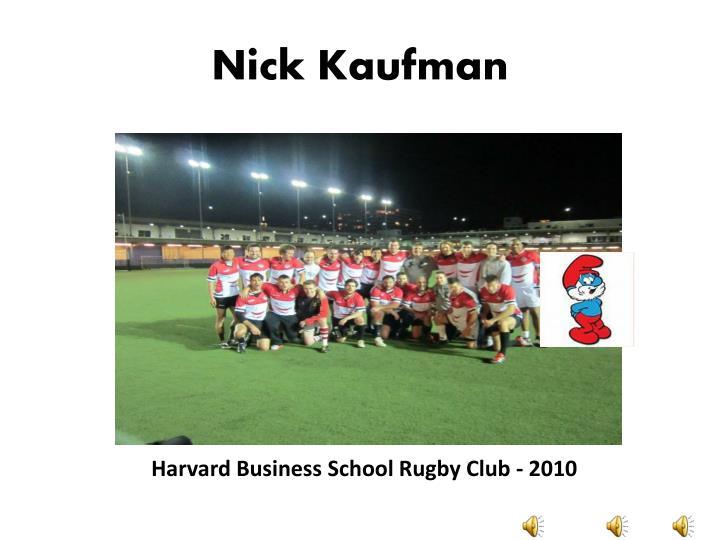 Nick Kaufman