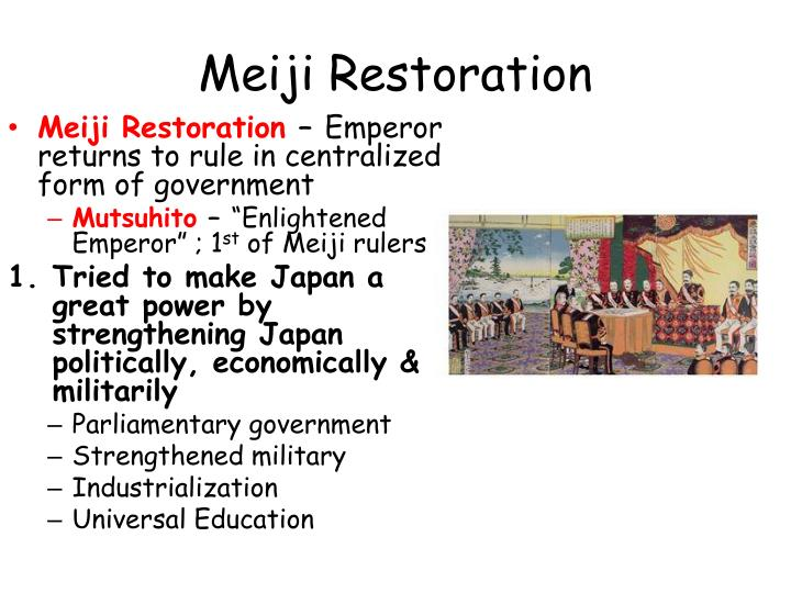 the meiji restoration essay