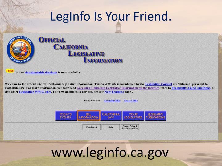 LegInfo Is Your Friend.