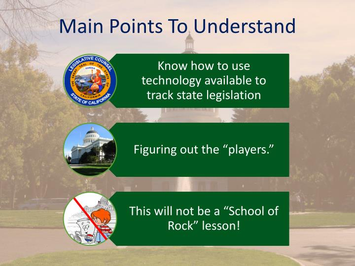 Main Points To Understand