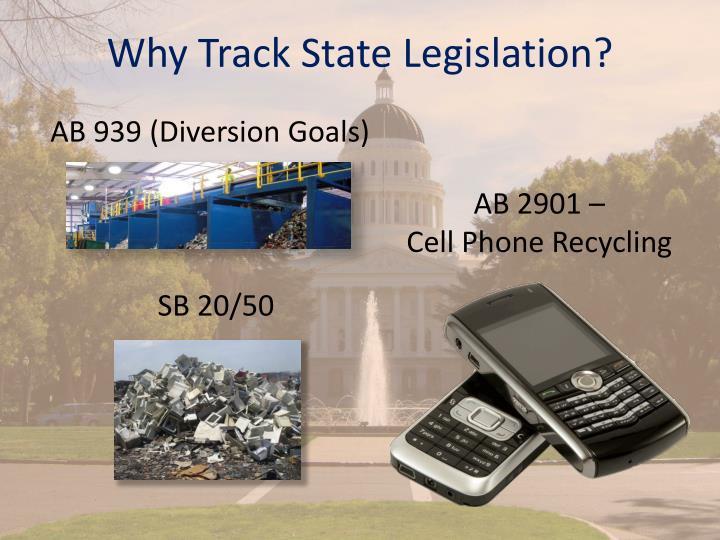 Why Track State Legislation?