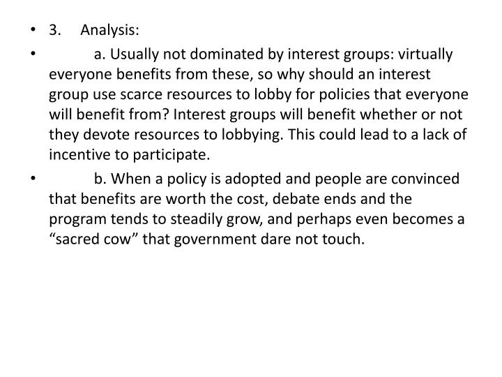 3.Analysis: