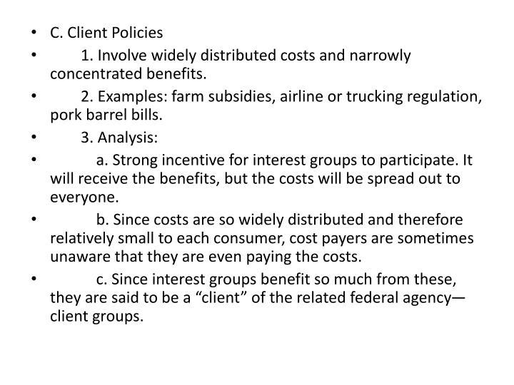 C. Client Policies