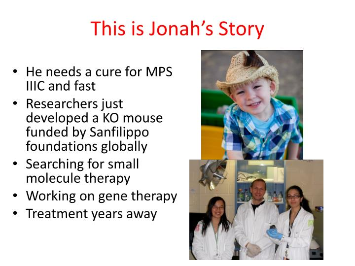 This is Jonah's Story