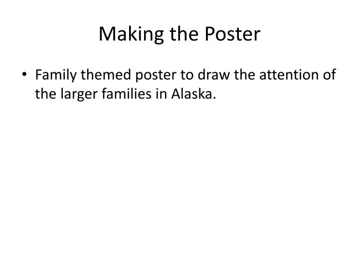 Making the Poster
