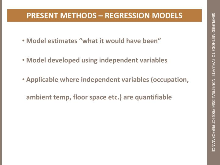 "Model estimates ""what it would have been"""