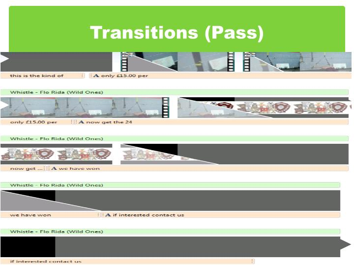 Transitions (Pass)