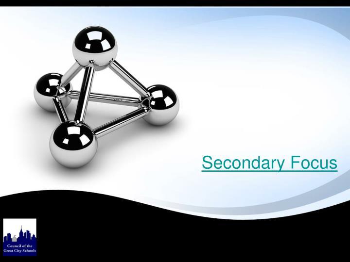 Secondary Focus