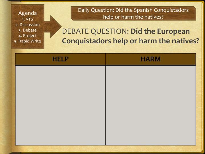 DEBATE QUESTION: