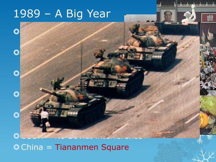1989 – A Big Year