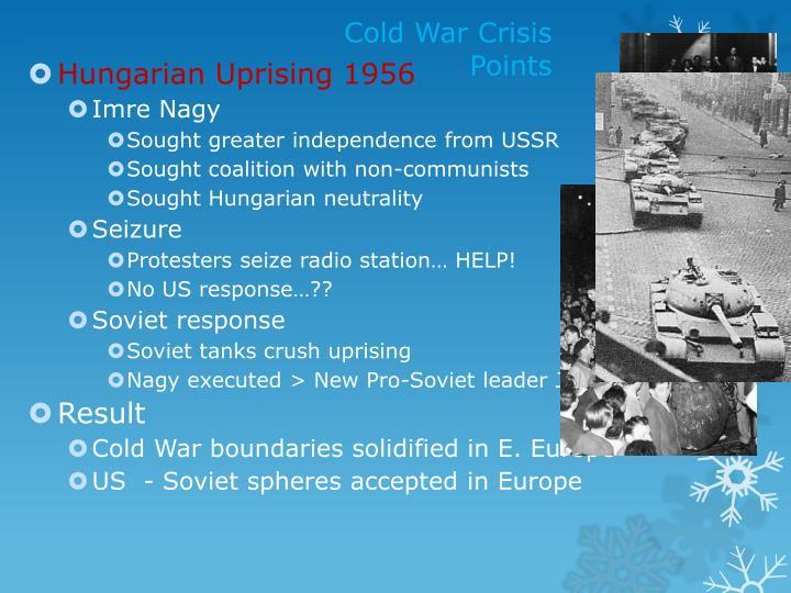 Cold War Crisis Points
