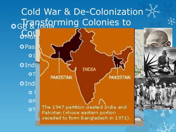 Cold War & De-Colonization