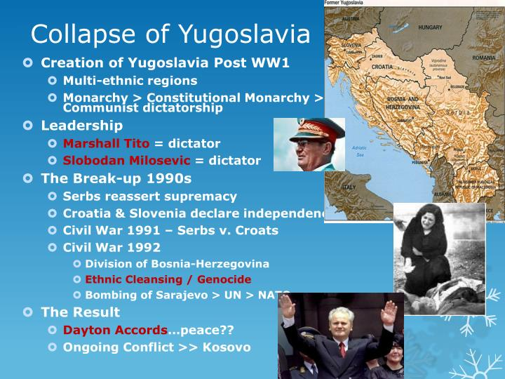 Collapse of Yugoslavia