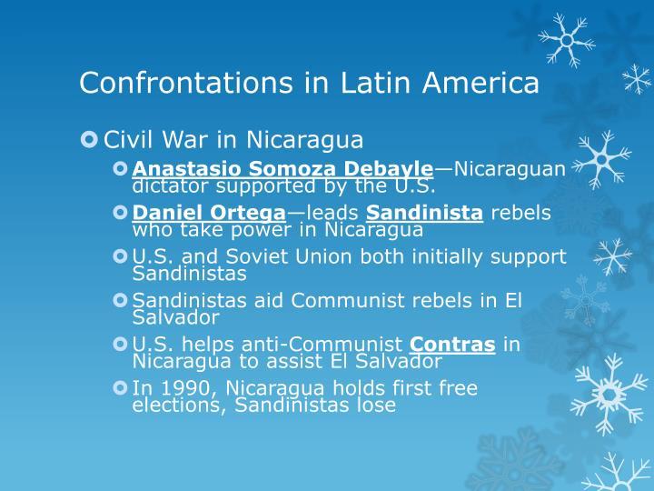 Confrontations in Latin America
