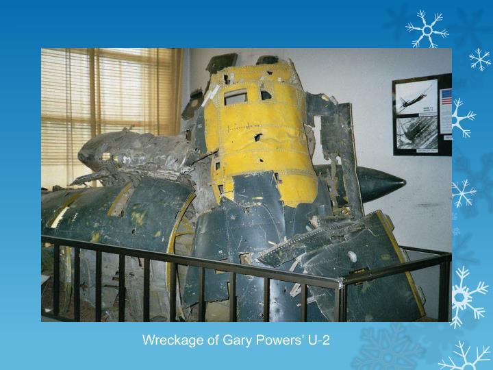 Wreckage of Gary Powers' U-2
