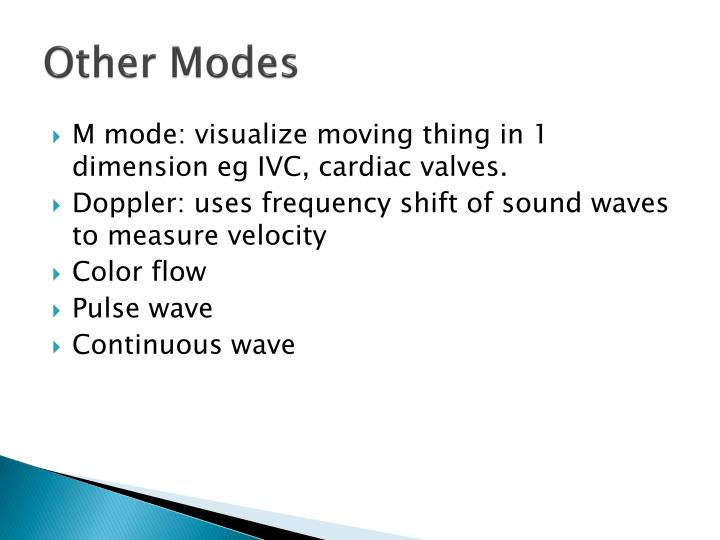 Other Modes