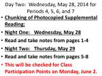 day two wednesday may 28 2014 for periods 4 5 6 and 72