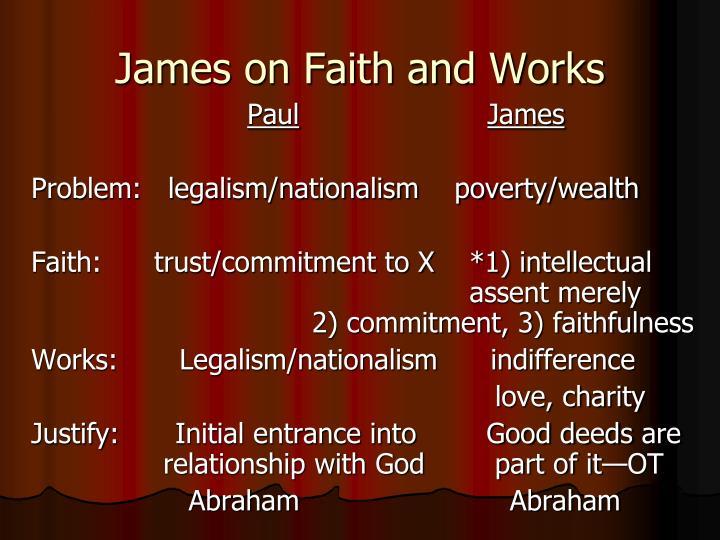 James on Faith and Works