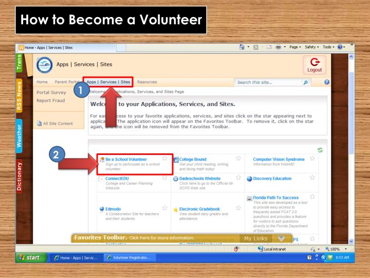 How to Become a Volunteer