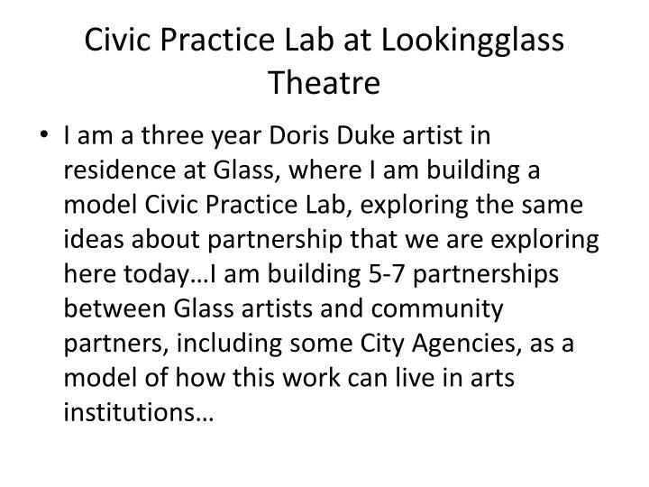Civic Practice Lab at