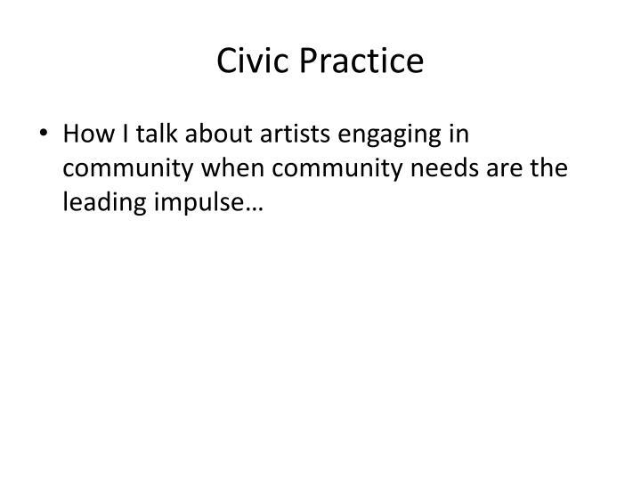 Civic Practice